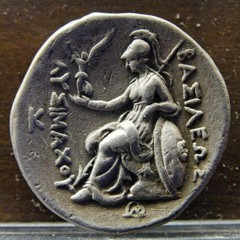 Silver tetradrachm from the kingdom of Thrace, reign of Lysimachus (305–281 BC)