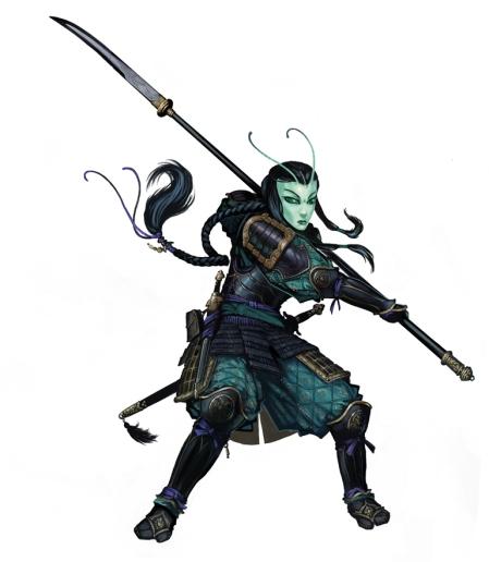 Xilan, Mantyd Warrior by Ben Wootten