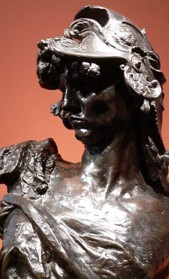 Bellona by Rodin
