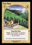Feng Shui Site - Fox Pass