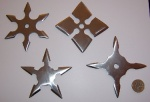 Shiny Throwing Stars