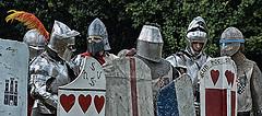 Shield wall, wall shields