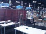 AEG booth in progress