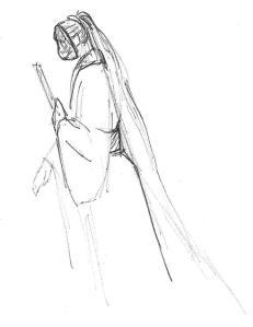 Bayushi Kaeru doodle by her player