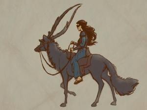 Nwain riding