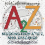 Blogging A to Z, 10th Anniversary!