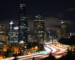 Seattle, Exterior, Night