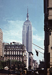 The Empire State Building, home to Heroes Inc HQ