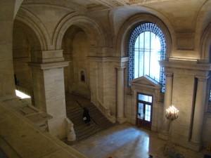 Inside the NY Public Library