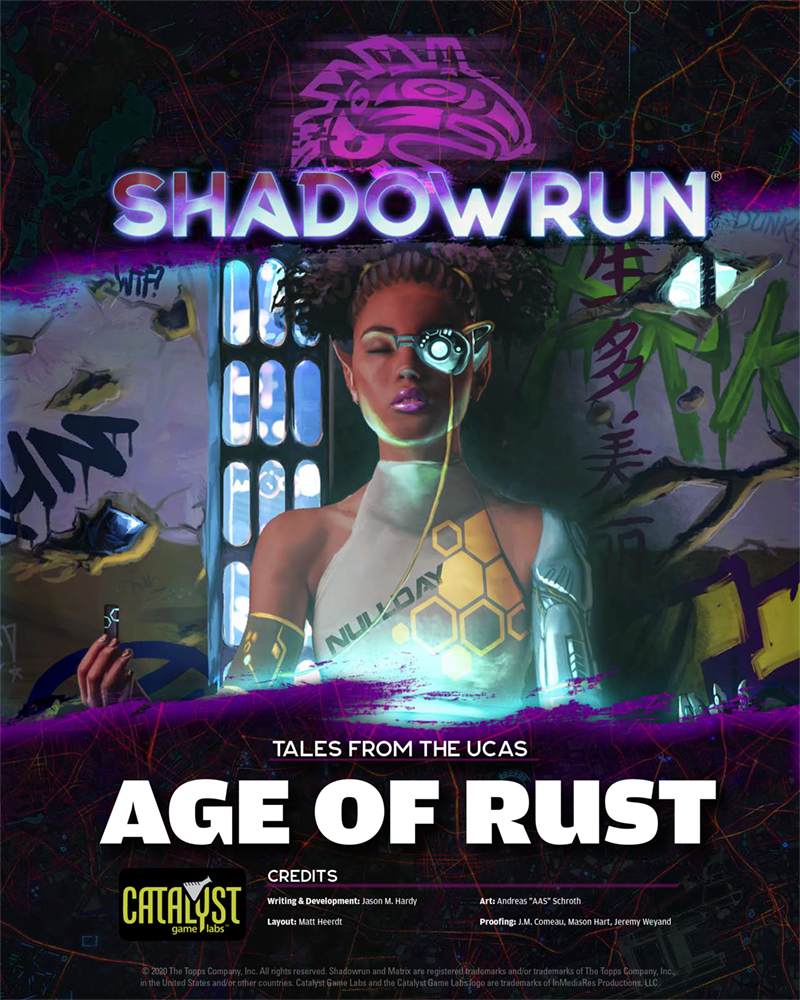Review – Shadowrun: Tales from the UCAS: Age of Rust