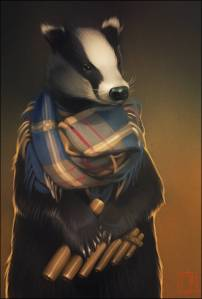 Badger the bard not